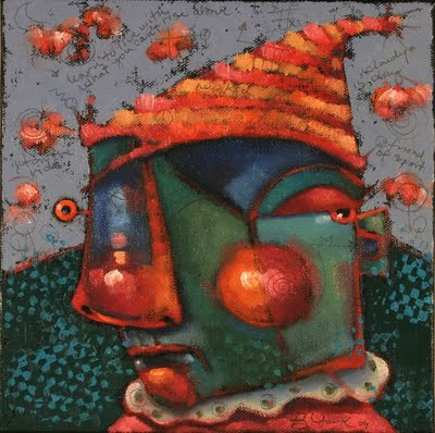 """Snarky"" original fine art by Brenda York"