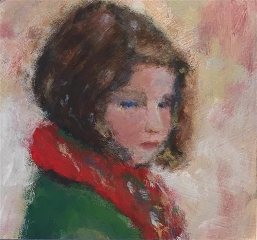 """Penelope"" original fine art by Melissa Gresham"