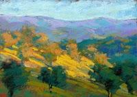 """Texas Hills 4"" original fine art by Rita Kirkman"