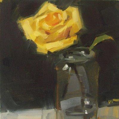 """Light in the Dark"" original fine art by Carol Marine"