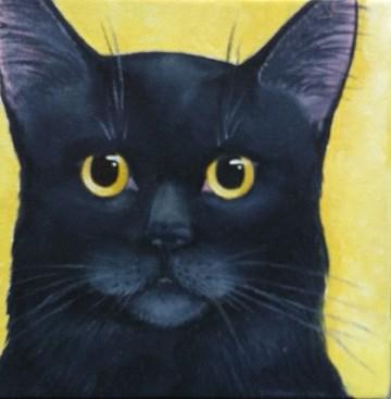 """Kizzy Fritz"" original fine art by Elaine Lynest"