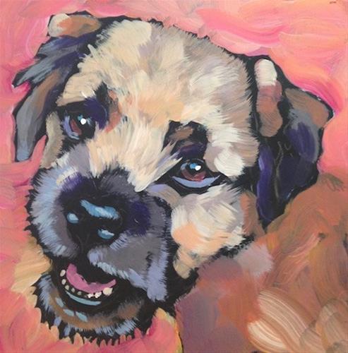 """""""July 1, Hubert!"""" original fine art by Kat Corrigan"""