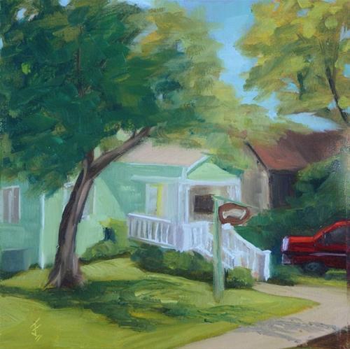 """Sweet Lemon"" original fine art by Jane Frederick"