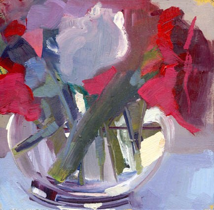 """1315 Quashing"" original fine art by Lisa Daria"