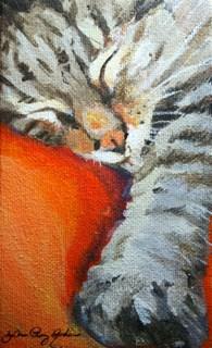 """Sunday Morning"" original fine art by JoAnne Perez Robinson"