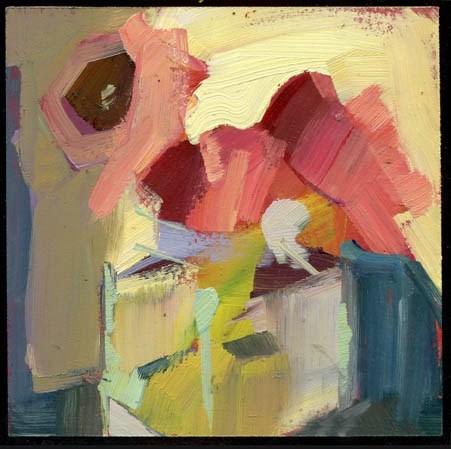 """2110 my sandwich"" original fine art by Lisa Daria"