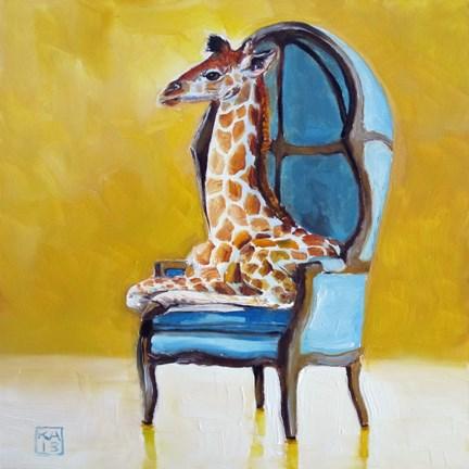 """just right"" original fine art by Kimberly Applegate"