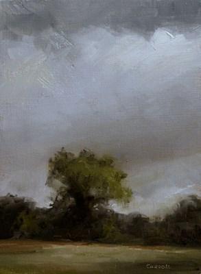 """""""Treeline"""" original fine art by Neil Carroll"""