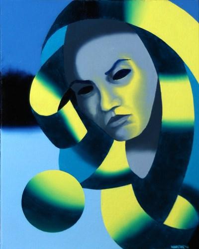 """Mark Adam Webster - Dark Matter Painting Series #3"" original fine art by Mark Webster"