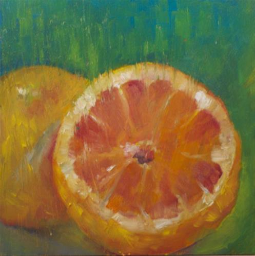 """G is for"" original fine art by Sue Churchgrant"