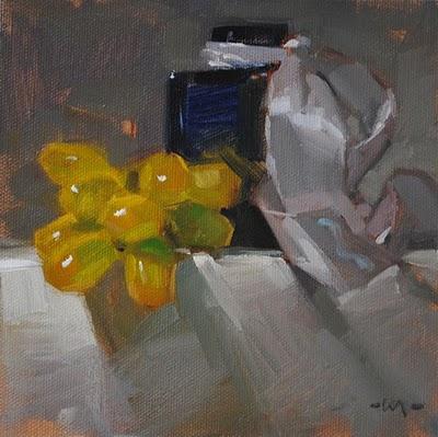 """Stemless"" original fine art by Carol Marine"