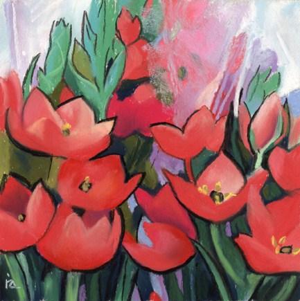 """spring flowers"" original fine art by Ria Hills"