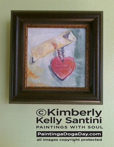 """""""A Not-So-Silent Auction"""" original fine art by Kimberly Santini"""