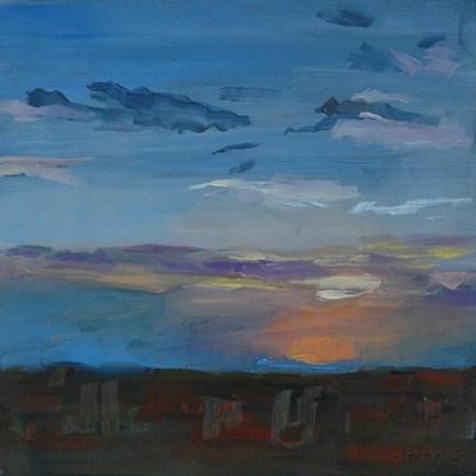 """BIG BEND SUNRISE"" original fine art by Linda Popple"