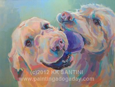 """Still In Process"" original fine art by Kimberly Santini"