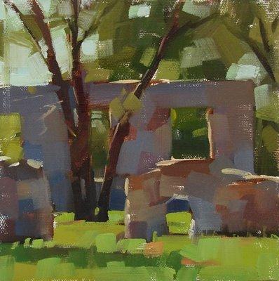 """Life Among the Ruins"" original fine art by Carol Marine"