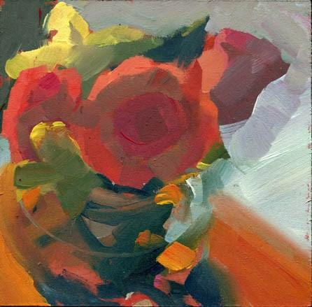 """""""1480 Talk Talk"""" original fine art by Lisa Daria"""