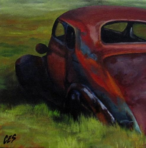 """Retired"" original fine art by ~ces~ Christine E. S. Code"