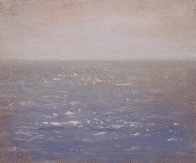 """The Sea"" original fine art by Abbey Ryan"