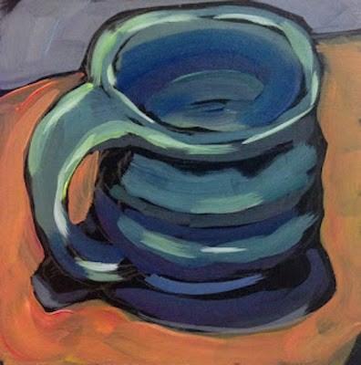 """Handmade Cuppa"" original fine art by Kat Corrigan"