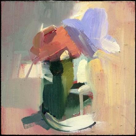 """2038 toffee"" original fine art by Lisa Daria"