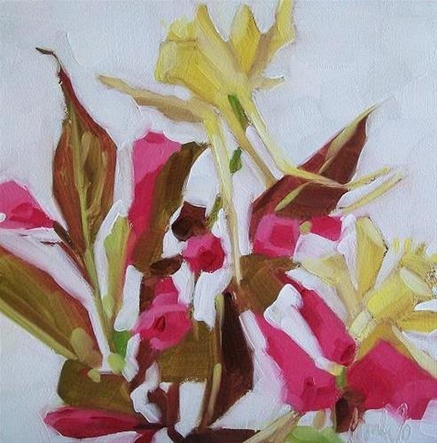 """Garden friends"" original fine art by Brandi Bowman"