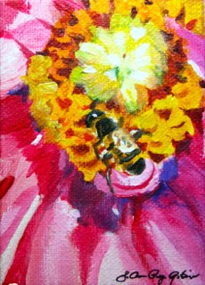 """""""Up Close and Personal"""" original fine art by JoAnne Perez Robinson"""