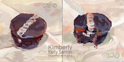 """Hostess I and II"" original fine art by Kimberly Santini"
