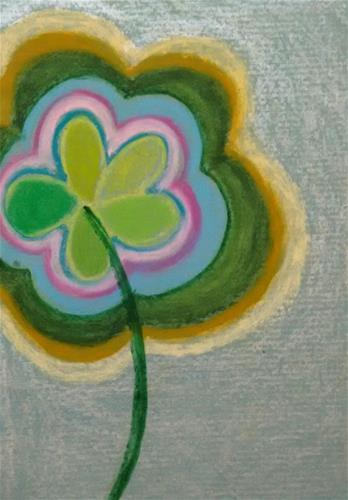 """""""Empty Flower"""" original fine art by Adéla Svobodová"""