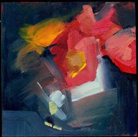 """2009 North and Main"" original fine art by Lisa Daria"
