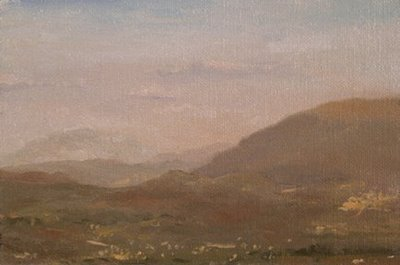 """View of Assisi, Italy - available"" original fine art by Abbey Ryan"