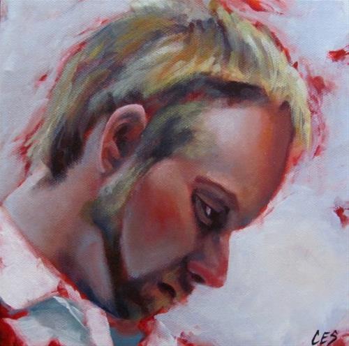 """""""The Insomniac"""" original fine art by ~ces~ Christine E. S. Code"""