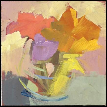 """2515 muffled higher notes"" original fine art by Lisa Daria"