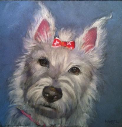 """Daisy"" original fine art by Sue Harrell"