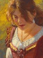 """""""Juliet"""" original fine art by Rita Kirkman"""