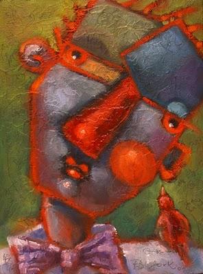 """The Right Wing"" original fine art by Brenda York"