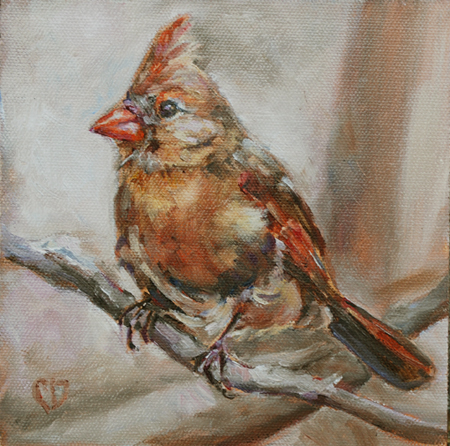 """Spring Dreaming"" original fine art by Carol DeMumbrum"
