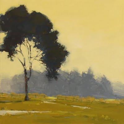 """Morning Vapors - Enlargement"" original fine art by Laurel Daniel"