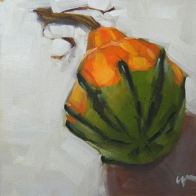 """Big Bottom --- SOLD"" original fine art by Carol Marine"