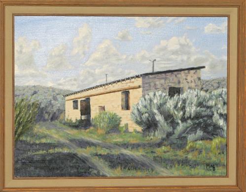 """""""Home Place"""" original fine art by John F McGowan"""
