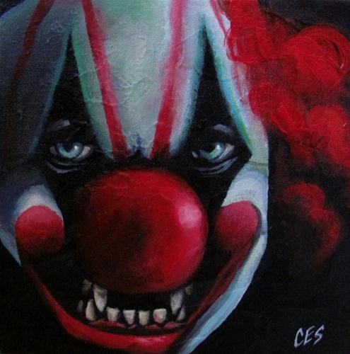 """""""No Joke"""" original fine art by ~ces~ Christine E. S. Code"""
