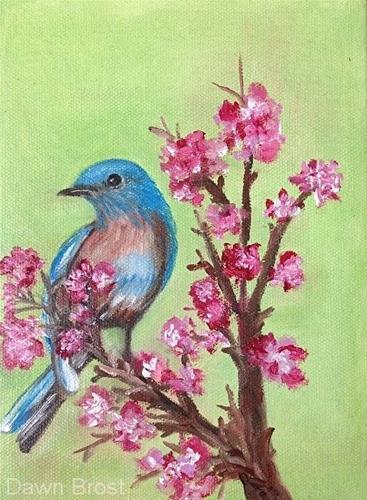 """For Grace"" original fine art by Dawn Brost"