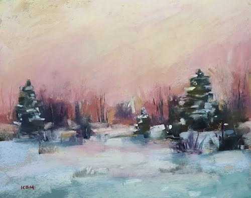 """Seeing Winter Colors"" original fine art by Karen Margulis"