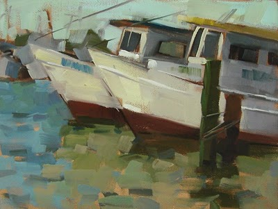 """Morning Glow --- SOLD"" original fine art by Carol Marine"