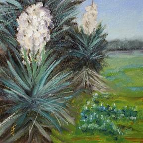 """""""Wild Spring"""" original fine art by Jane Frederick"""