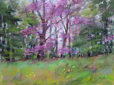 """Signs of spring"" original fine art by Karen Margulis"
