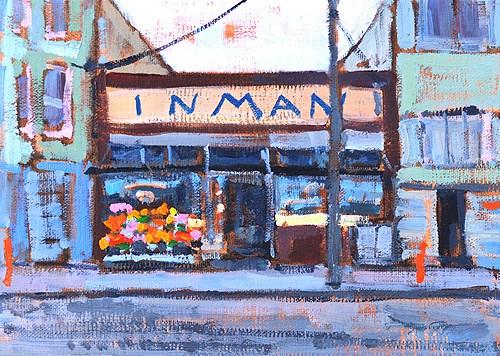 """Bi-Rite, Mission, San Francisco"" original fine art by Kevin Inman"