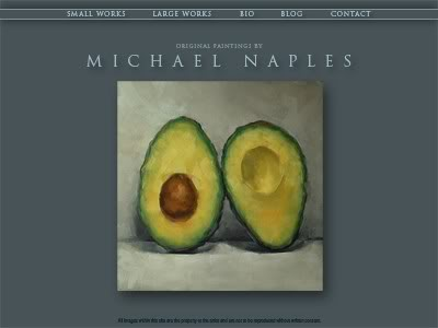 """Website Preview"" original fine art by Michael Naples"