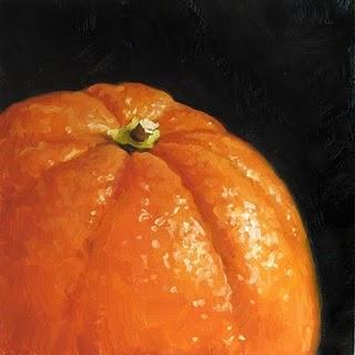 """Orange Top"" original fine art by Michael Naples"