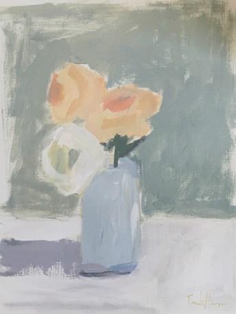 """flower sketch"" original fine art by Pamela Munger"